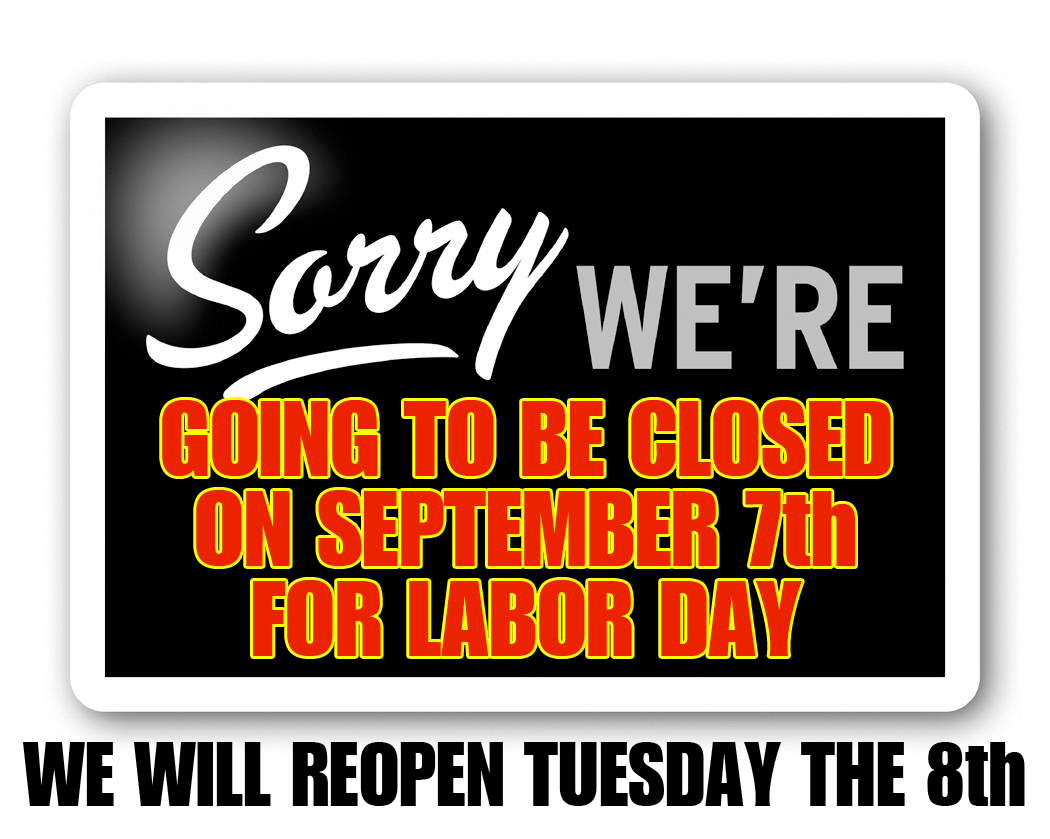 Pueblo Tires is closed on Labor Day 2015