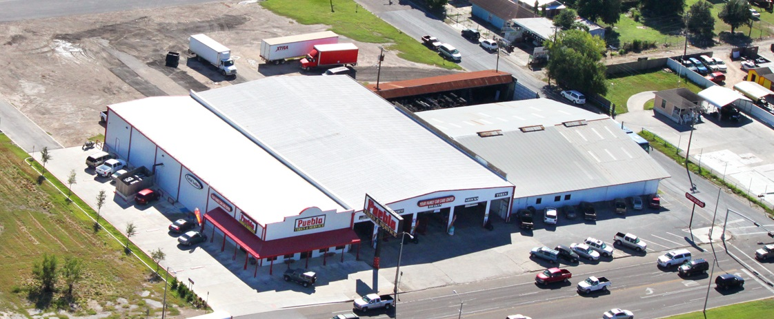 Pueblo Tires Main Business Offices at 1919 W Business 83 in McAllen, TX